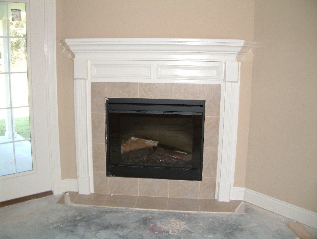 Fireplace Mantels Trim work, door replacement, rotten wood ...